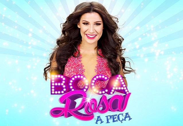 """Curta temporada! Ingresso Inteira Plateia Inferior para """"Boca Rosa - A Peça"""" no Theatro Via Sul de R$80 por apenas R$38"""
