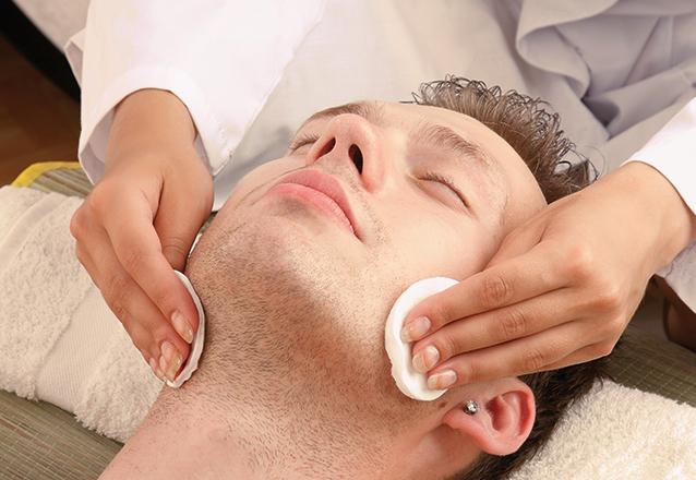 Higienização da pele completa para homens de R$60 por R$22,90