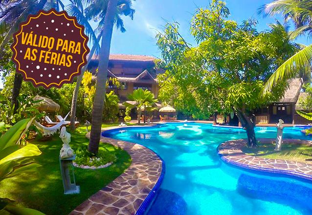 Suas Férias em um dos melhores hotéis do Ceará! 2 diárias em Suíte Luxo com piscina no quarto para 2 pessoas com café da manhã a partir de R$999 no Orixás Art Hotel