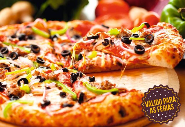 De volta no Barato Coletivo! Rodízio Completo de Massas e Pizzas + 1 Sobremesa + Água e Refri para 1 pessoa por R$25,90 no Benvenutti Restaurante