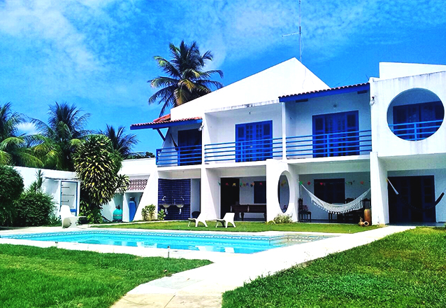 Para você aproveitar bons momentos em Cumbuco! 2 diárias para 2 pessoas e 1 criança de até 6 anos + café da manhã por R$199 na Pousada Crimar