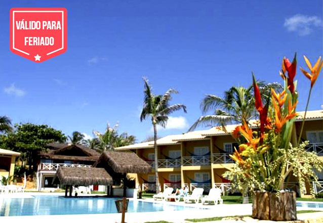 Feriado de 7 de Setembro no Bouganville Hotel! 3 diárias para casal e 1 criança de até 6 anos + café da manhã por apenas R$630