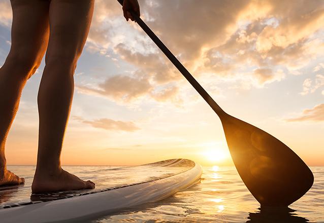 1 hora de Stand up Paddle de R$30 por R$19,90