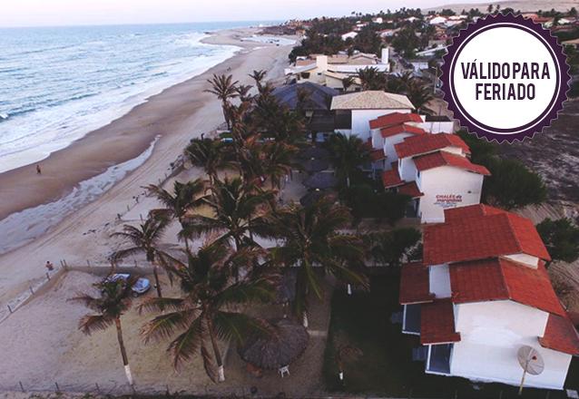Feriado de 7 de Setembro pertinho do mar, no Chalés Marambaia! 3 diárias para até 6 pessoas por apenas R$389