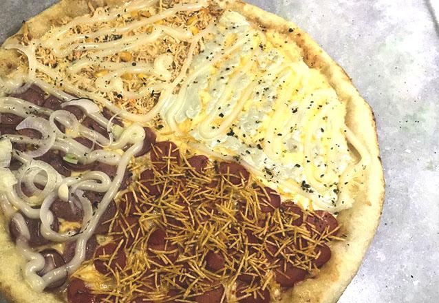 Mais de 2 sabores para você! Pizza Grande de 35cm com até 04 sabores de R$29 por apenas R$19,90 no Calzone Full