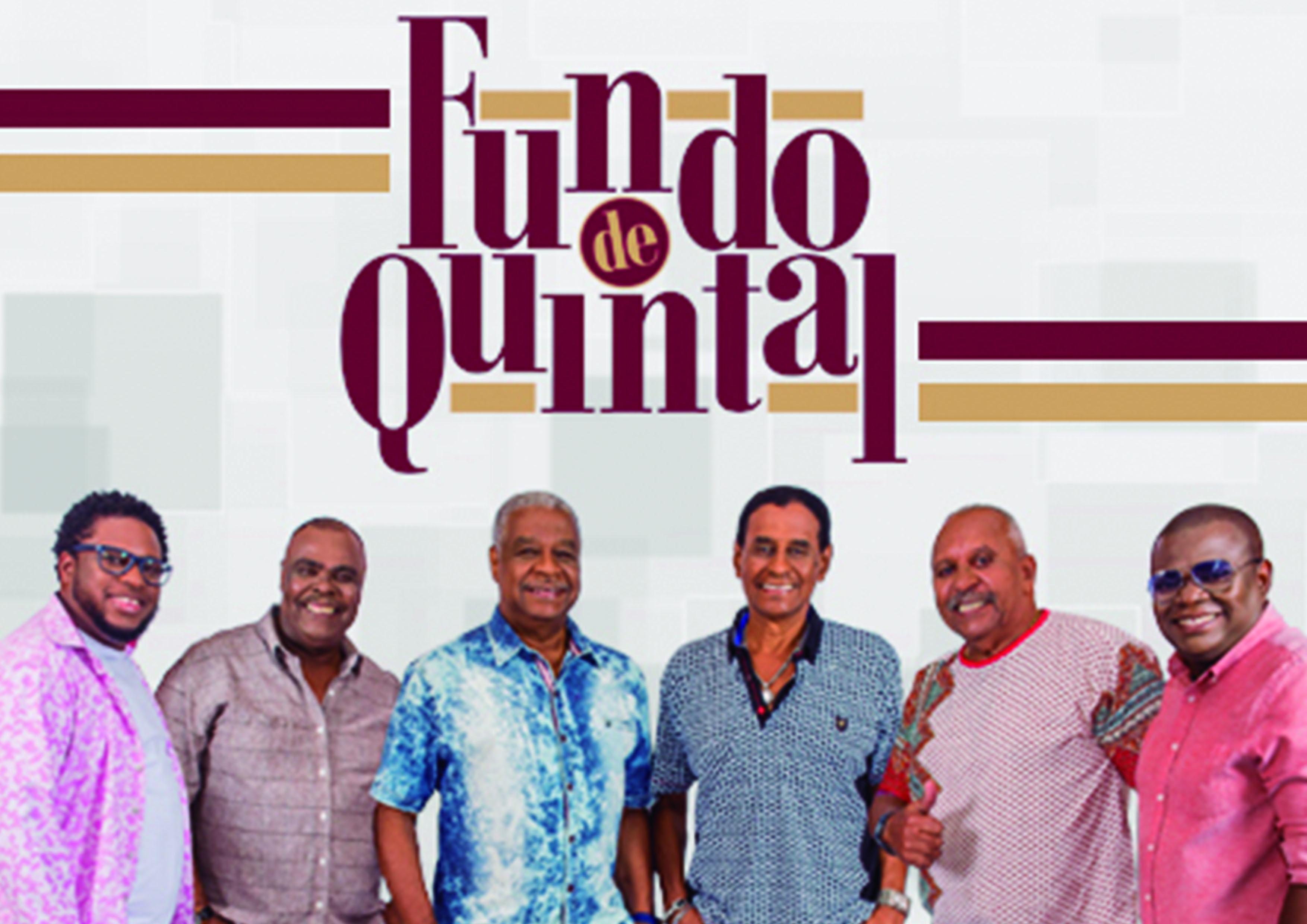 """Para você que ama curtir um bom samba! Ingresso Inteira Plateia Alta para o show do """"Fundo de Quintal"""" no Teatro RioMar Fortaleza por R$70"""