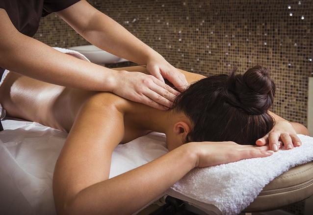 1 sessão de Massagem Relaxante ou Bambuterapia ou Pedras Quentes de R$75 por R$39,90