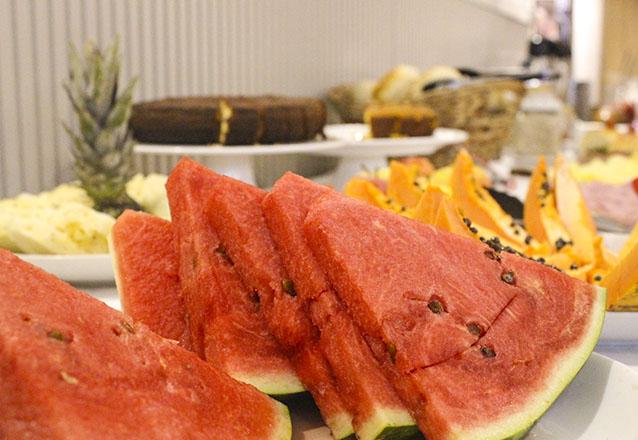 A refeição mais importante do dia! Tem que ser no melhor lugar! Café da manhã para 1 pessoa no Mercado Landscape de R$25 por apenas R$16,90