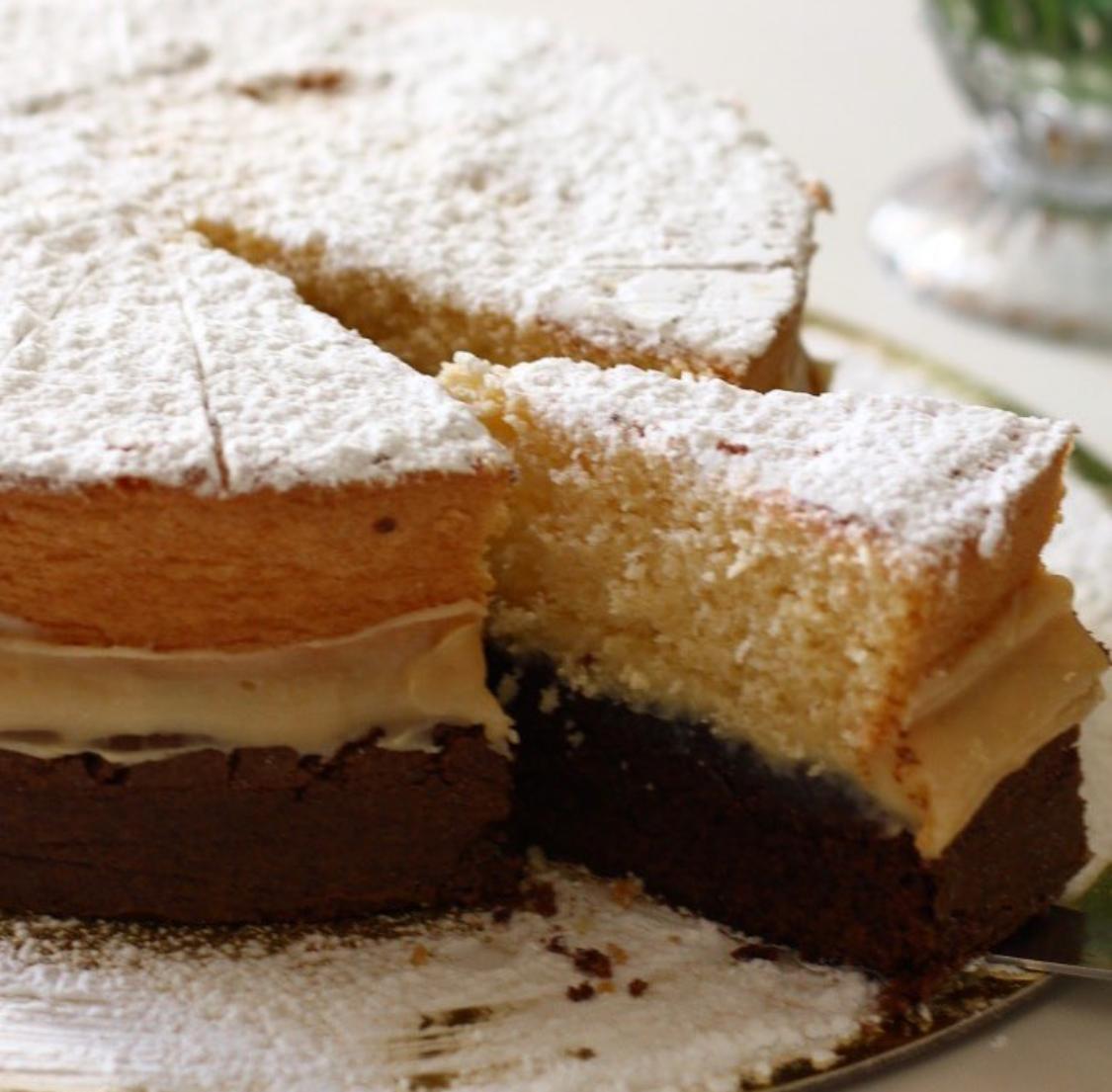 RELÂMPAGO: 1 Torta Duo ou Torta Bem Casado para até 15 pessoas a partir de R$120 por apenas R$75,60 na Doceville