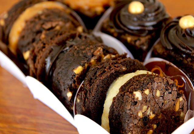 40 Sanduíches de Brownies de R$80 por apenas R$65
