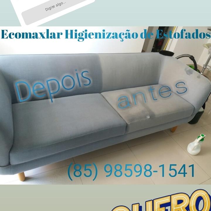 Lavagem de sofá até 3 lugares (tamanho padrão) ou Cama box solteiro ou colchão solteiro ou Conjunto de até 4 Cadeiras de mesa de jantar de R$120 por apenas R$27,90