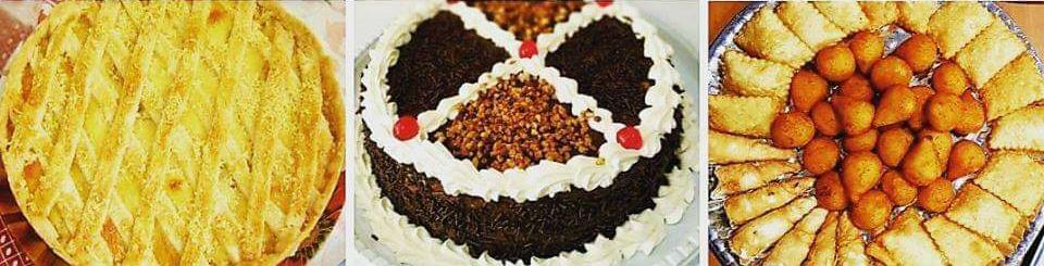 1 Kit Festa (1 torta doce para 15 pessoas + 1 empadão de frango 1,5kg + 50 salgadinhos) de R$95 por apenas R$79,90