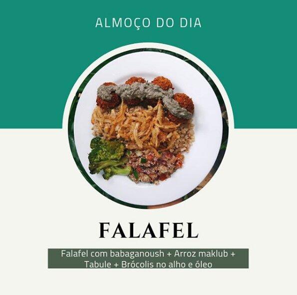 Almoço do dia (válido apenas quarta-feira) para 1 pessoa de R$22 por apenas R$9,90