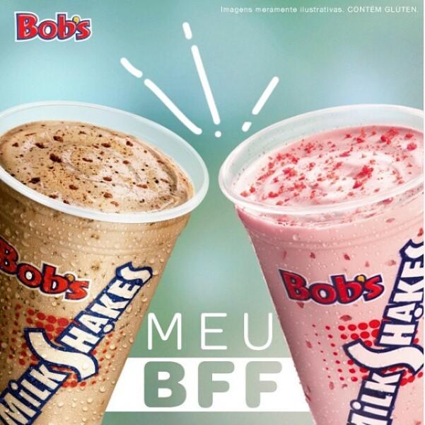 O clássico do Bob's aqui no Barato! 1 Milk Shake P do Bob's de 300ml de R$10 por apenas R$6,50. Válido para Shopping Iguatemi 1º Piso, Iguatemi Expansão, Shopping Benfica, North Shopping Jóquei, Shopping Parangaba e North Shopping. Válido para todos os dia