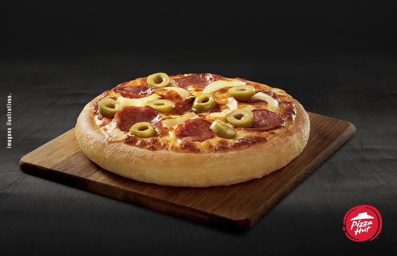 Pizza Pan Individual (Pepperoni, Mussarela ou Calabresa) de R$14,90 por apenas R$8,90 no Pizza Hut - Shopping Iguatemi Piso Térreo
