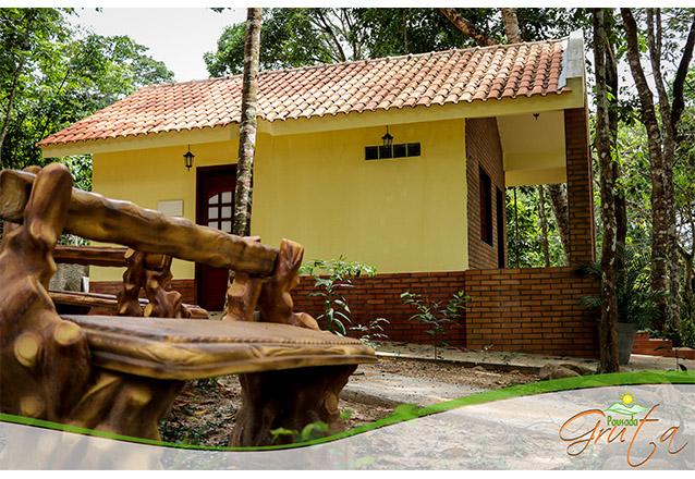 2 Diárias no Chalé para 2 pessoas com café da manhã por apenas R$499,00