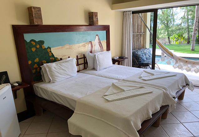 1 Diária (domingo a quinta) em Apartamento de Luxo para 2 Adultos e 1 Criança até 6 anos com café da manhã de R$260 por apenas R$179