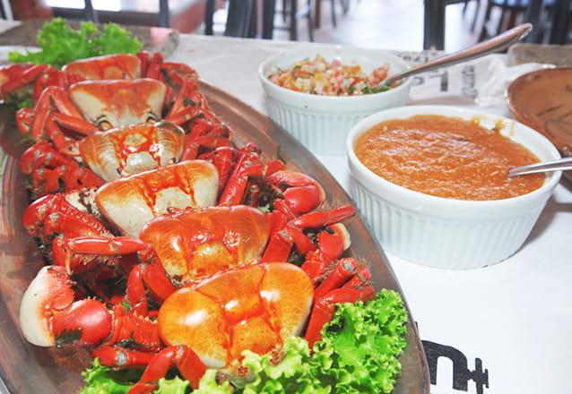 A famosa quinta do caranguejo no melhor lugar! Kit com 03 Caranguejos no Barão da Villa de R$29,90 por apenas R$18,90